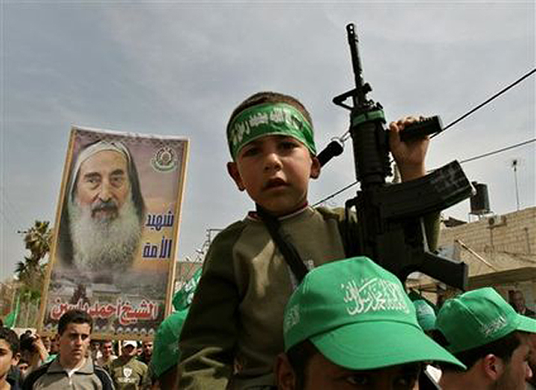 Hamas Child Does Their Fighting