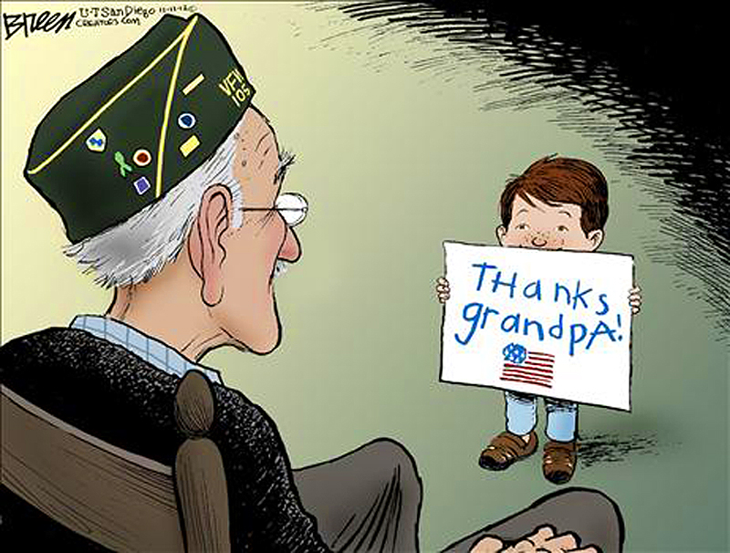 Thanks, Grandpa