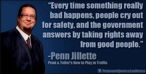 Penn Jillette BAN