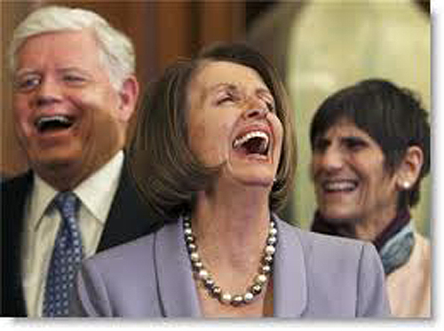 Demorats Laugh Over Your Tax Plight