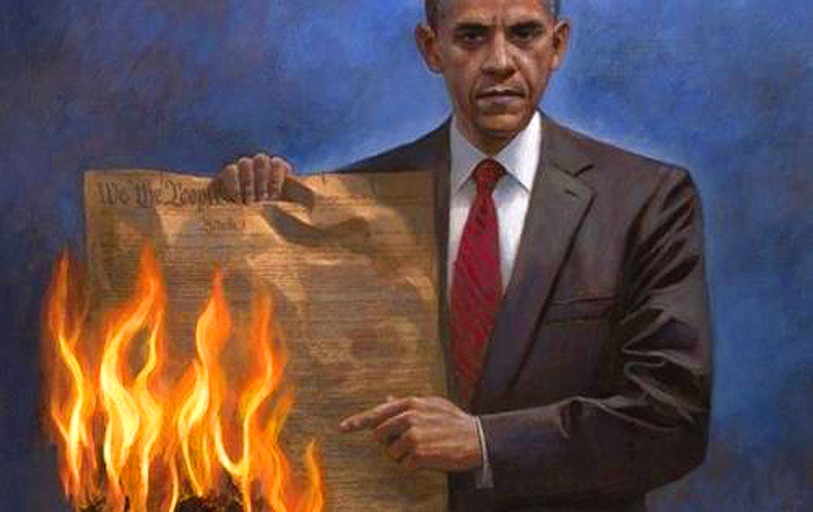 Obama Destroying US Constitution