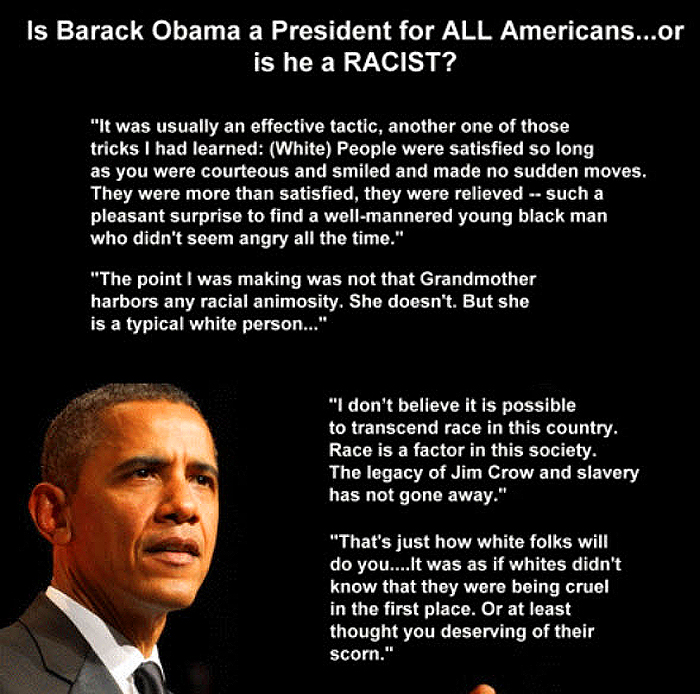 Obama Racist Words