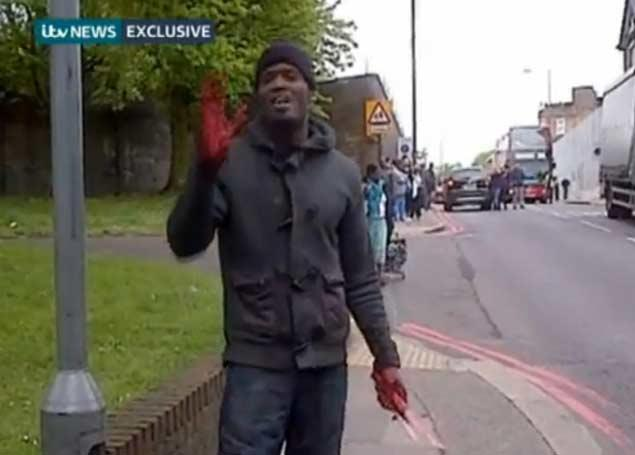 Muslim Soldier Killer In London