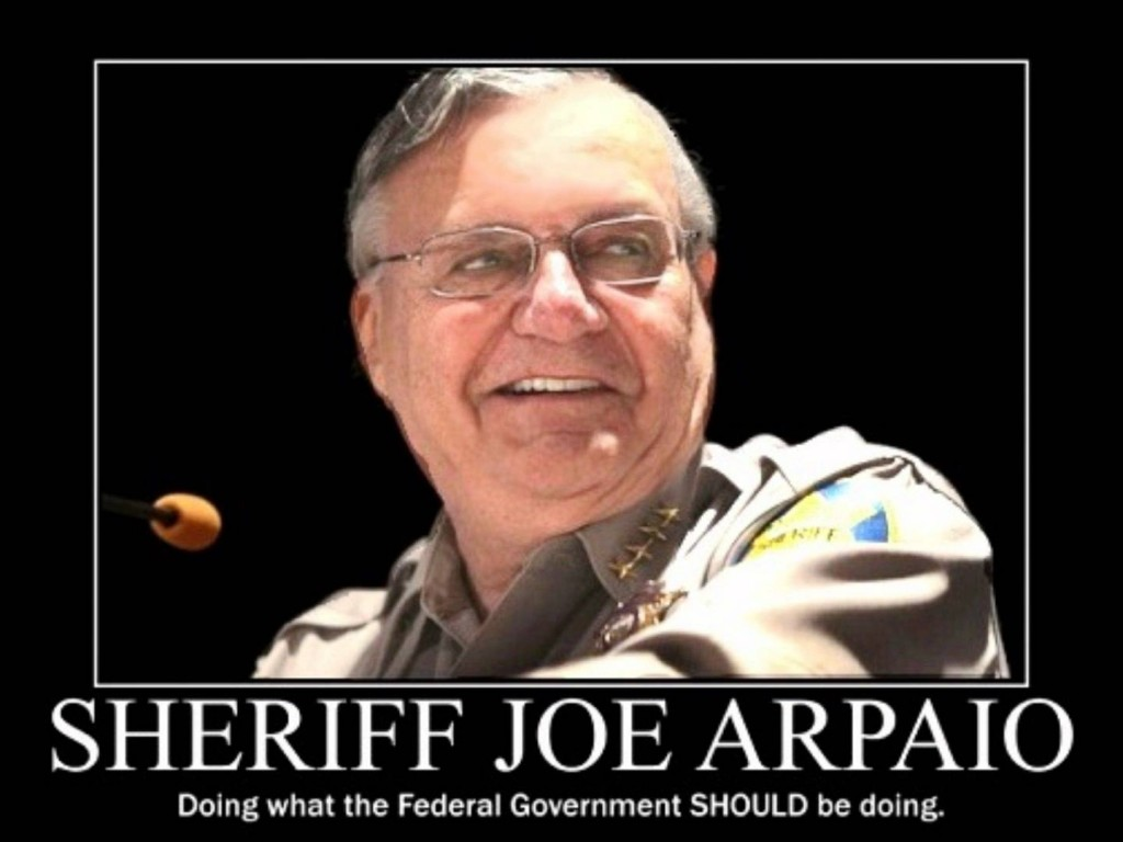 I Don T Bow Down To The Federal Government By Joe Arpaio