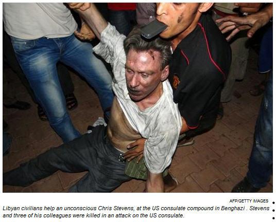 US Ambassador Christopher Stevens, Benghazi, Libya