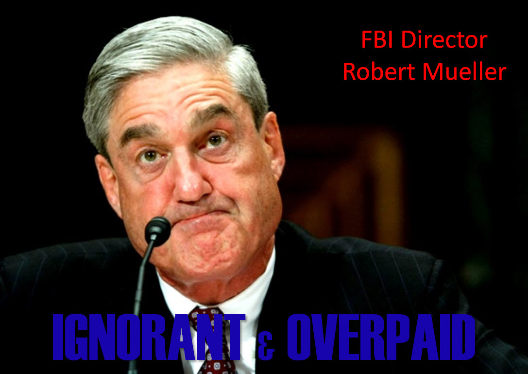FBI Director Robert Mueller Graphic