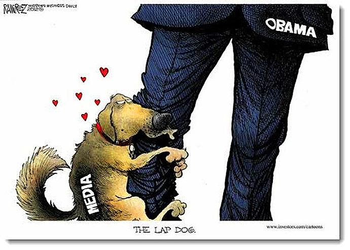 Obama Media Leg Humpers