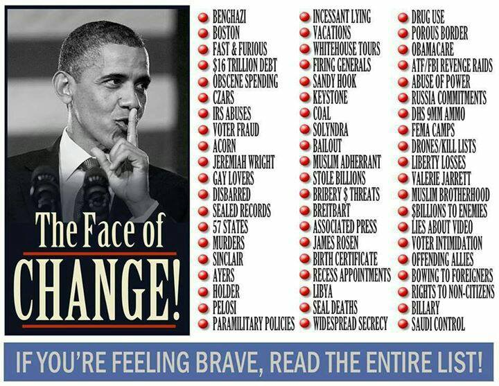 Obama, The Face of Change