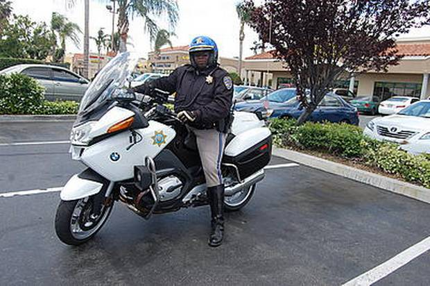 CHP Maurice Walker Motor Officer