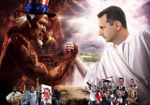 Evil US vs President Assad
