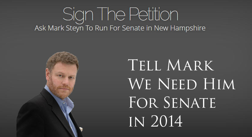 Mark Steyn Petition
