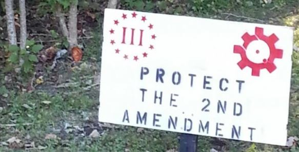 2nd Amendment Sign, Somers, NY