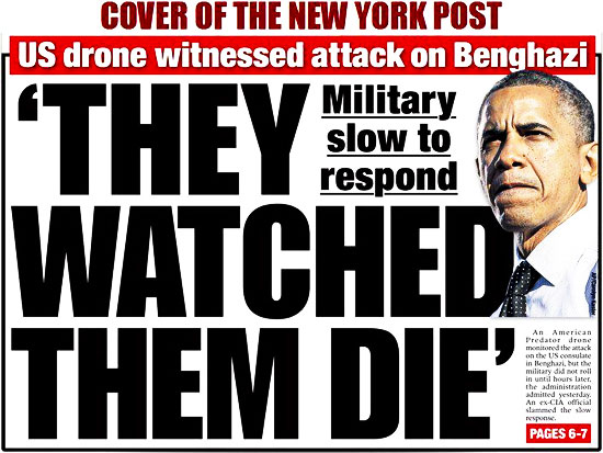 Benghazi - They Watched Them Die