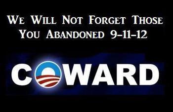 Obama Coward