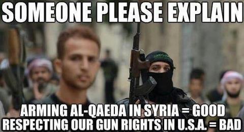 Obama, Syria, Guns