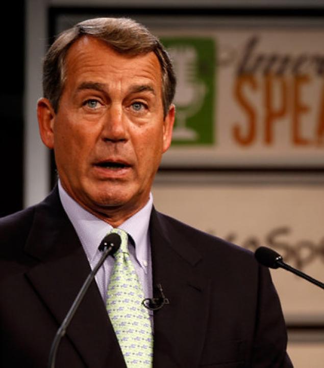 John Boehner Quite Frakking Tan