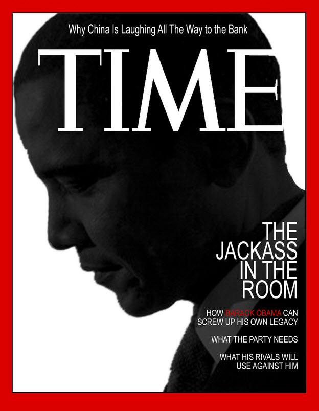Obama Time Cover Jackass