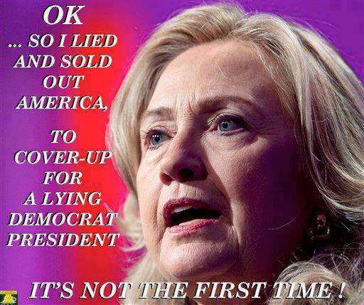 Hillary Sold Out