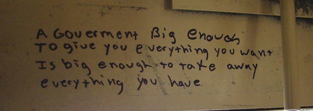 Govt Big Enuff