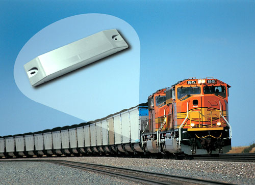 RFID Railroad Tag