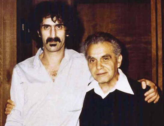 Frank Zappa and Jack Kirby