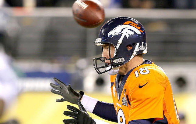 Manning in Super Bowl 48