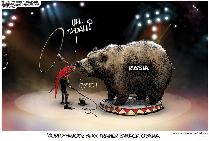 Obama the Russian Bear Trainer