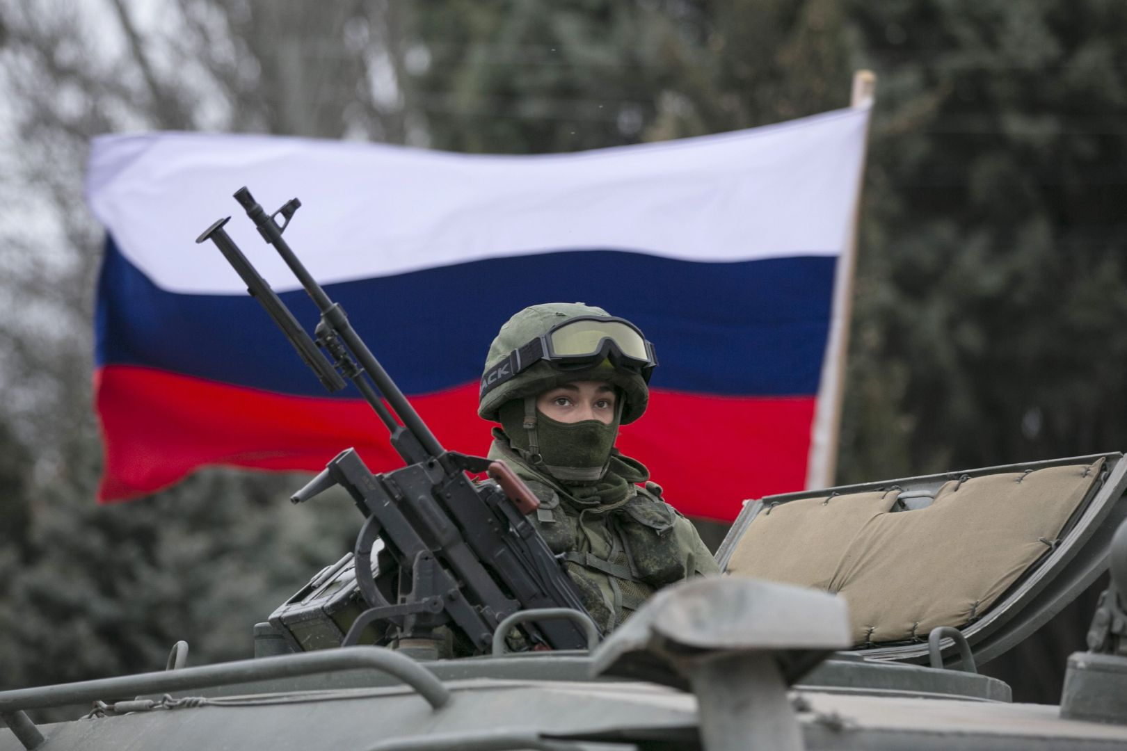 Russian Troop in Ukraine