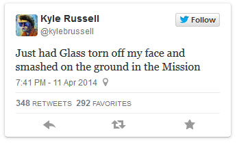 Google Glass Tweet 1