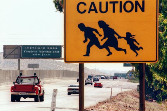Illegal Mexican Sign