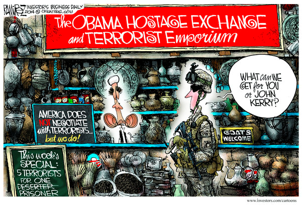 Obama Hostage Exchange