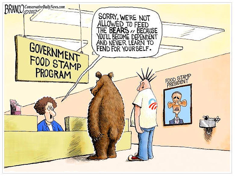 Don't Feed the Leftists or the Bears