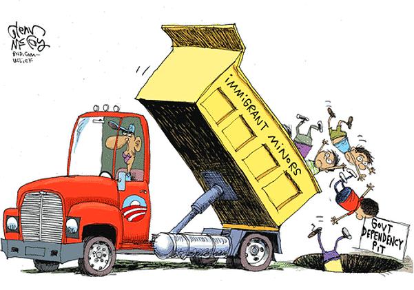 Illegal Immigrant Dumping