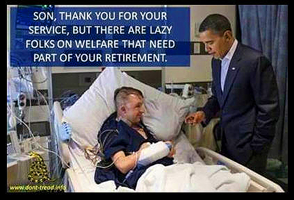 Military Service Appreciated by Obama