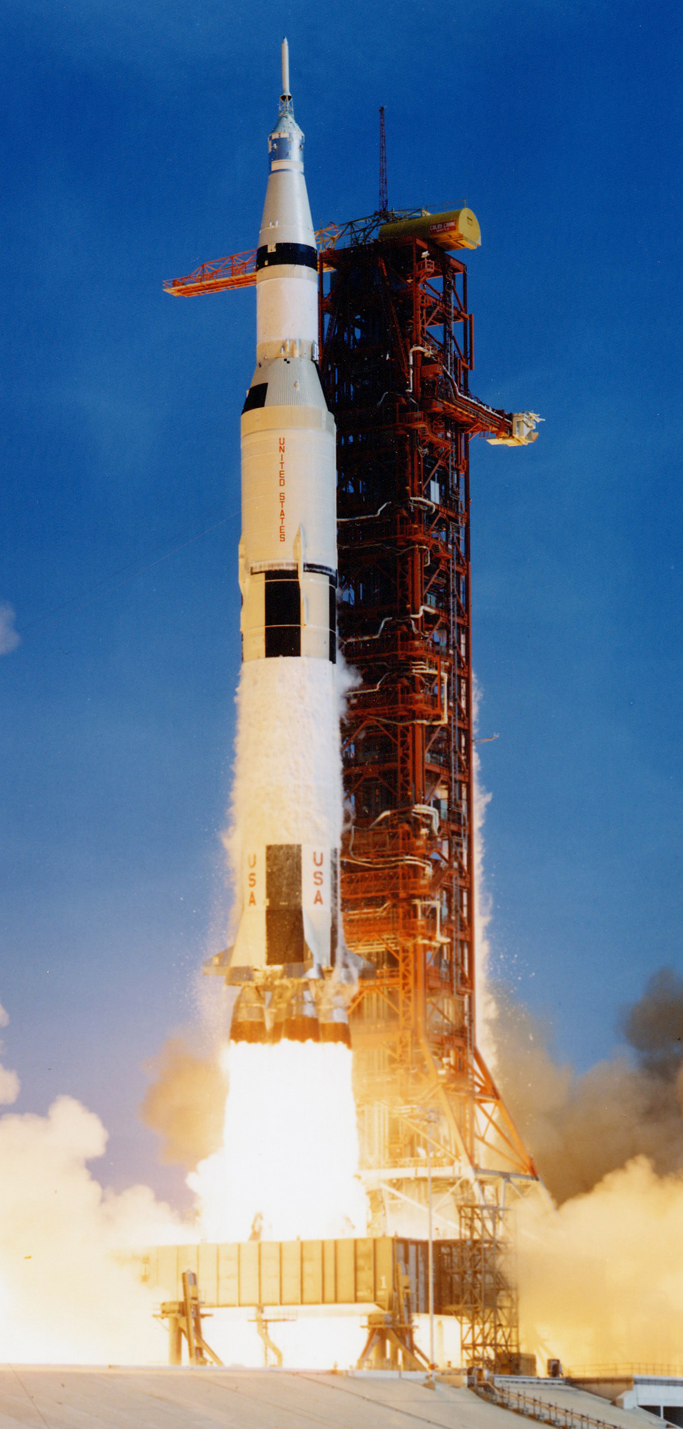 Saturn V, Apollo 11, July 1969