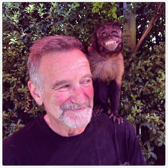 Robin Williams Lasrt Photo