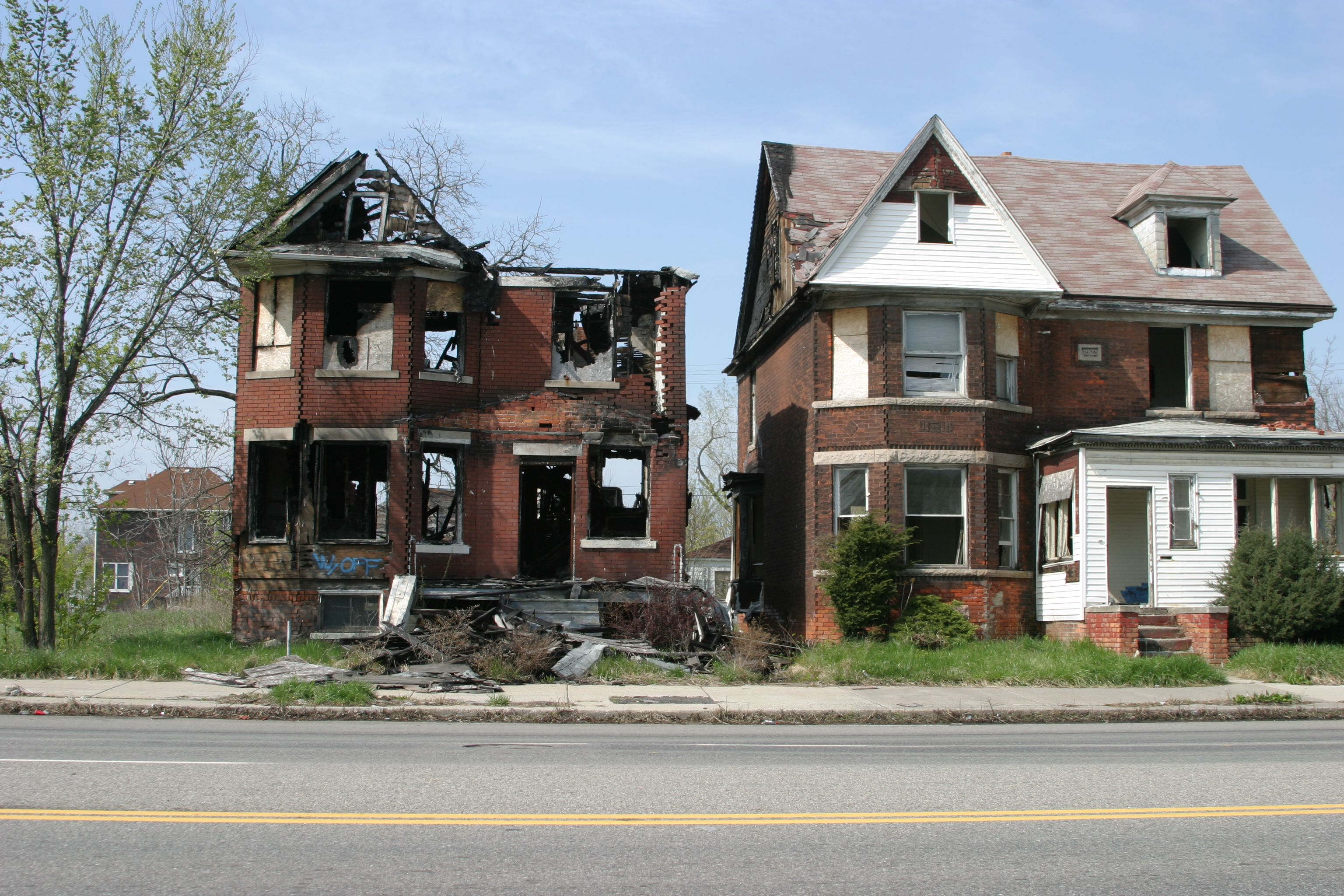 Detroit Abandoned Homes 1
