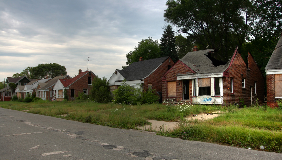 Detroit Abandoned Homes