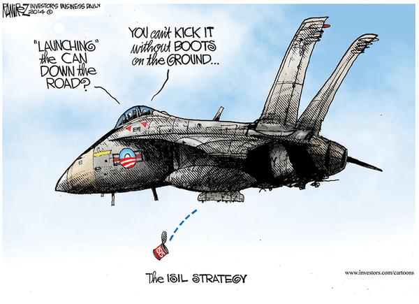 ISIL - ISIS Strategy via Obaka
