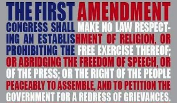 First Amendment Flag