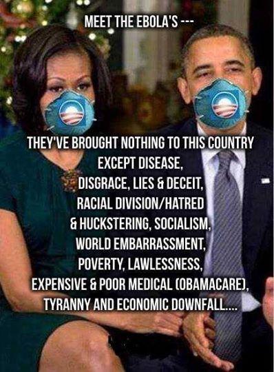 Obama & The Ebolas
