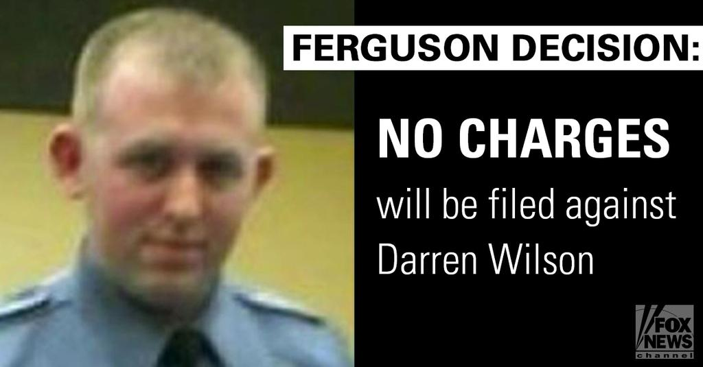 Ferguson No Charges