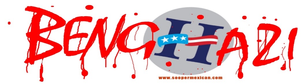 Hillary Clinton's BENGHAZI Promo Bumper Sticker -- PAST IT ON