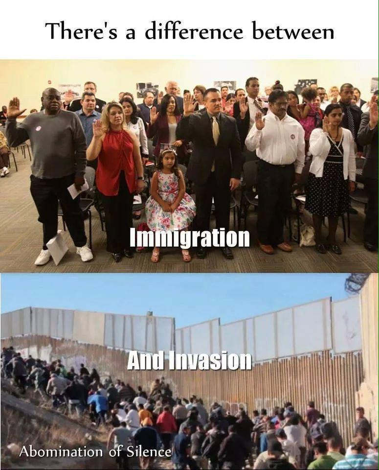 Immigration and Invasion