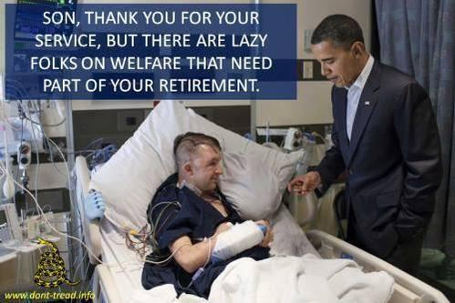 Obama Taking Military Retirements