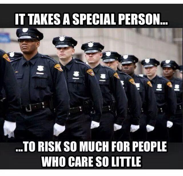 Cops Graduating