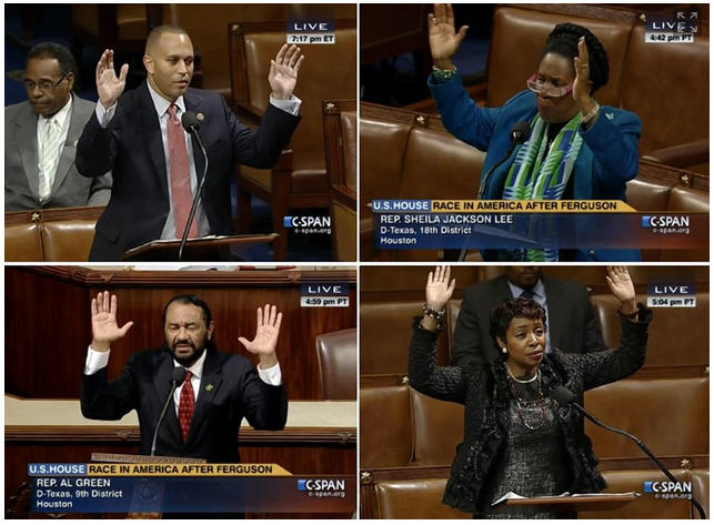 Ferguson CBC Jeffries, Lee, Green, Clarke, Hands Up Don't Shoot