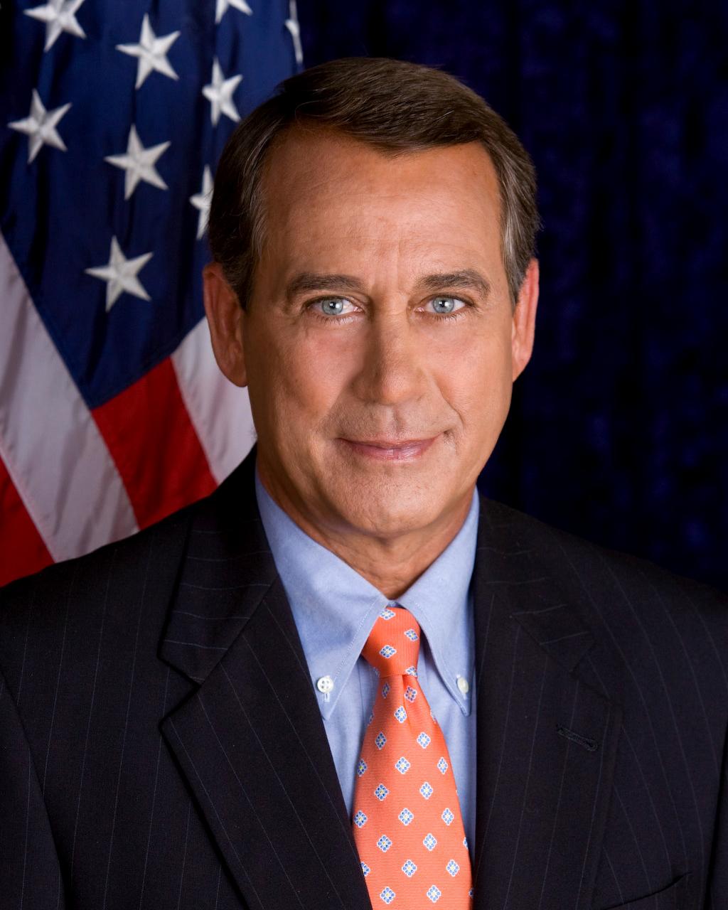 John Boehner Mascara