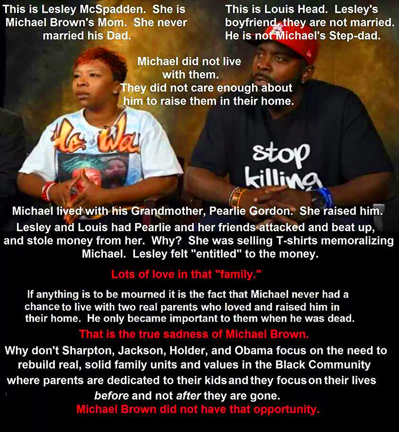 Michael Brown Truth