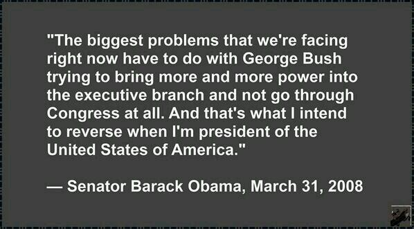 Obama Executive Power Grab Quote